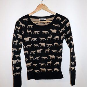 ⭐ 3/$30 - Garage Animal Sweater